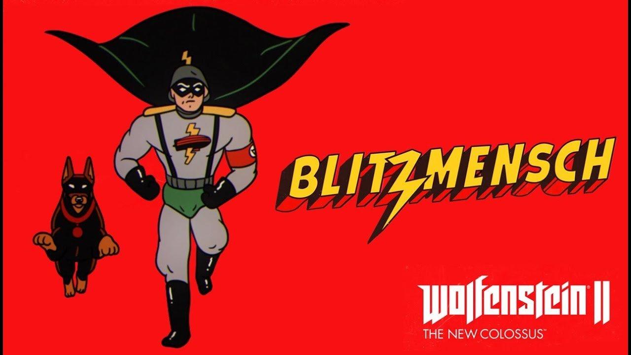 Wolfenstein II: The New Colossus - Blitzmensch