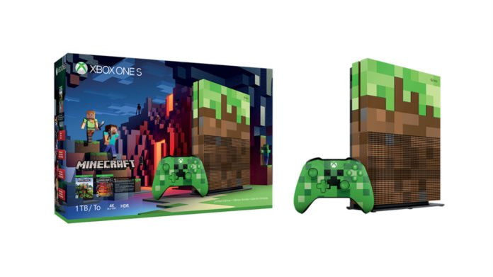 Xbox One S Minecraft Limited Edition Bundle