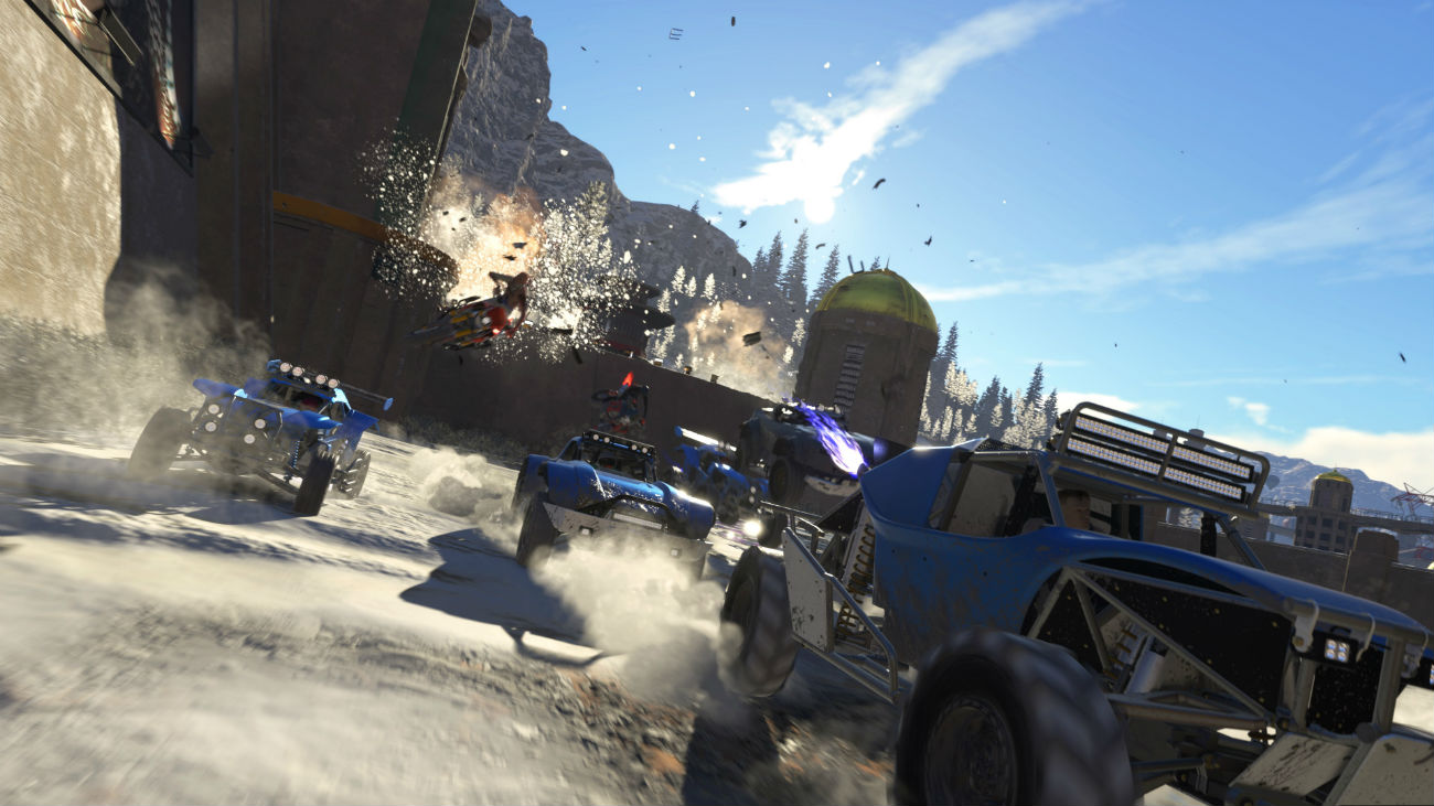 ONRUSH: 4K oder 60 Fps Modus auf der Xbox One X und PS4 Pro ...