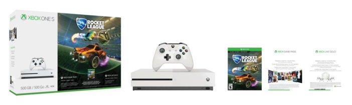 Xbox One S Rocket League Blast-Off Bundle
