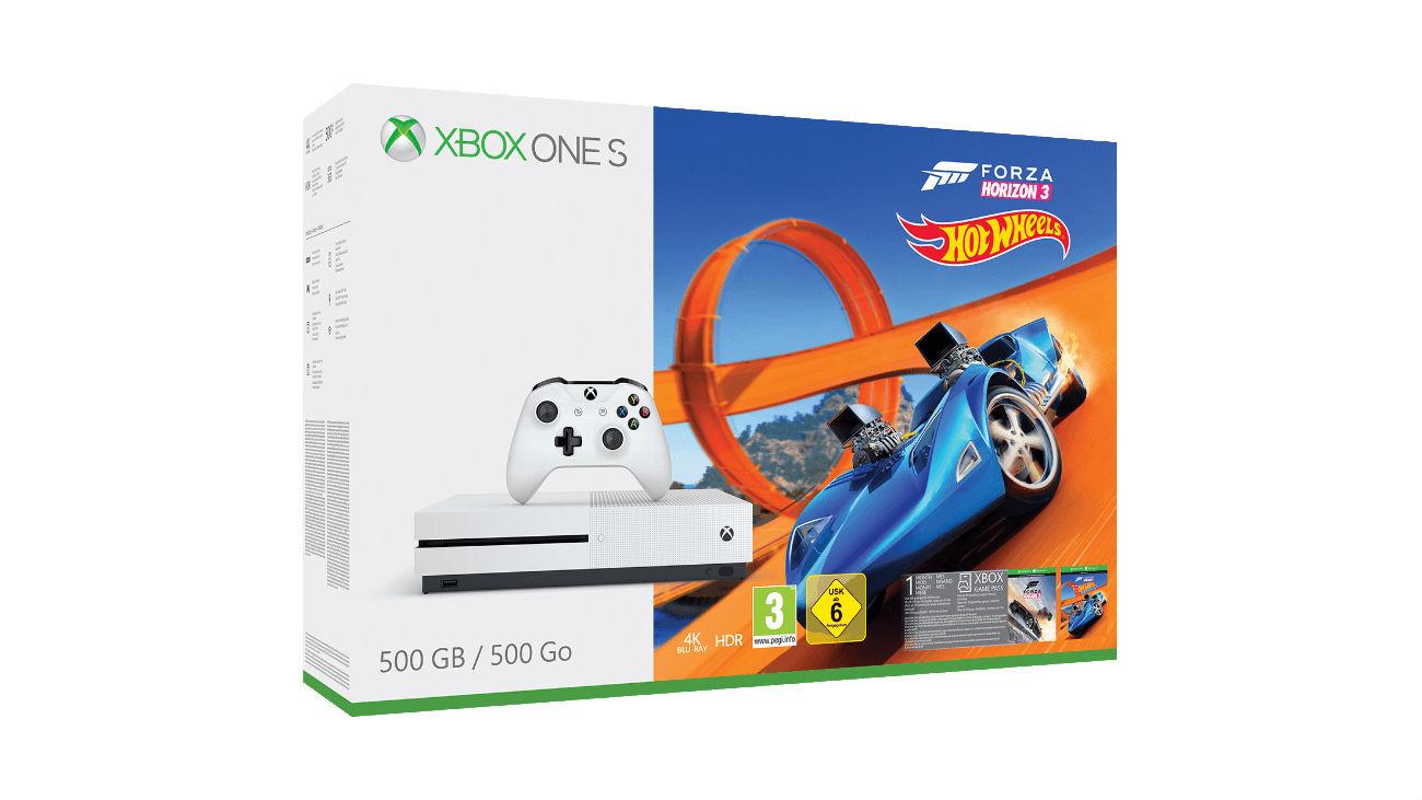 Xbox One S Forza Horizon 3 Hot Wheels