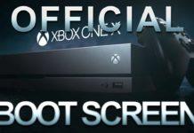 Xbox One X Bootscreen