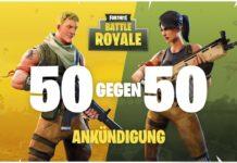Fortnite: Battle Royale - 50v50