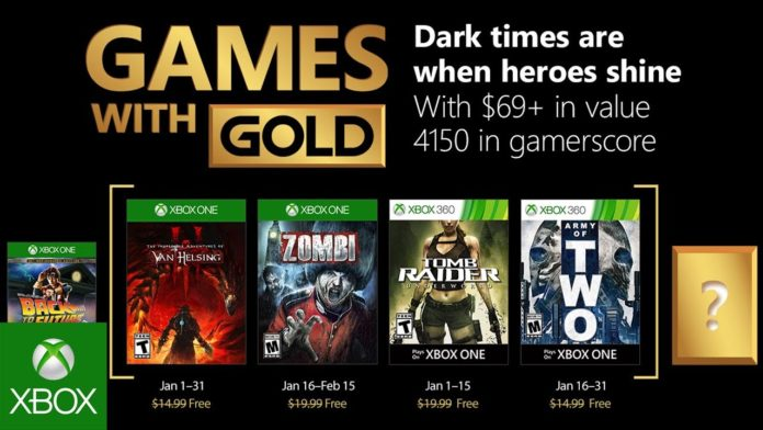 Games with Gold - Januar 2018