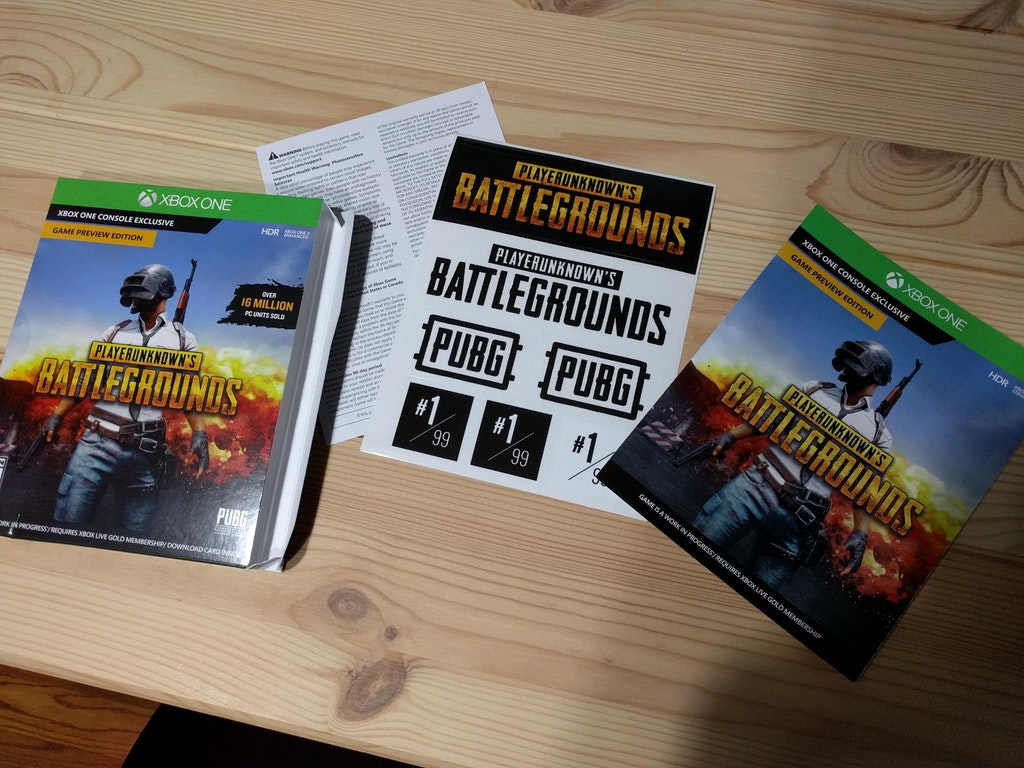PlayerUnknown's Battlegrounds Box