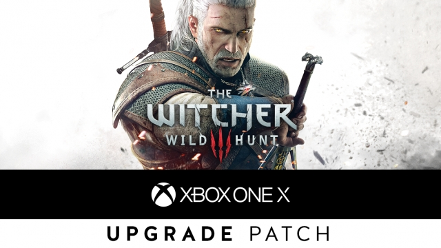 the witcher 3 wild hunt xbox one x update ist da und. Black Bedroom Furniture Sets. Home Design Ideas