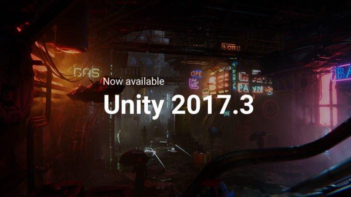 Unity 2017.3