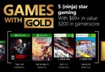 Games with Gold - Februar 2018