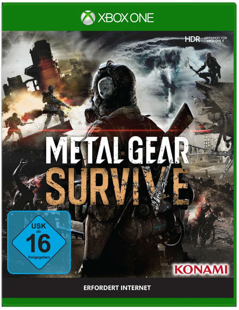 Metal Gear Survive Packshot