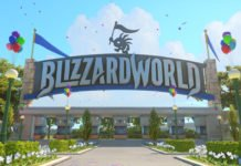 Overwatch Blizzard World Map