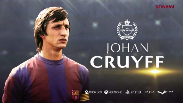 PES 2018 - Johan Cruyff