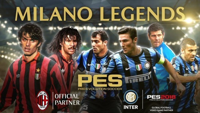 PES 2018 - Mailand Legenden