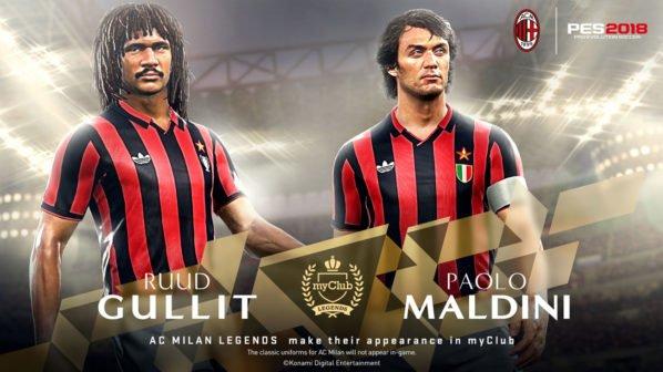 PES 2018 - AC Mailand