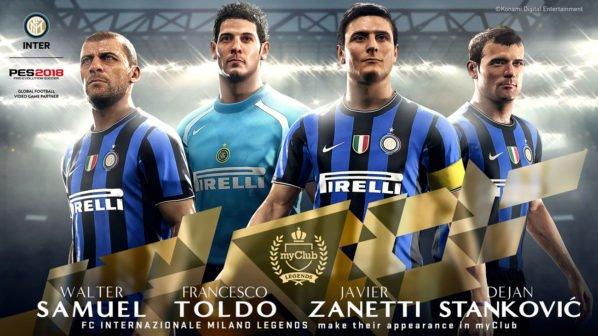 PES 2018 - Inter Mailand
