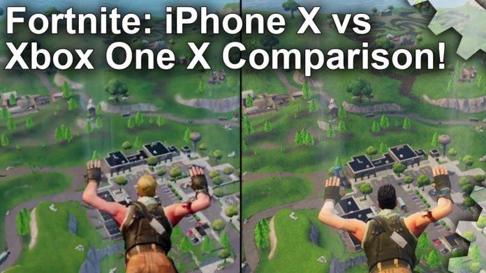 Fortnite Battle Royale Digital Foundry Vergleicht Xbox One X Und