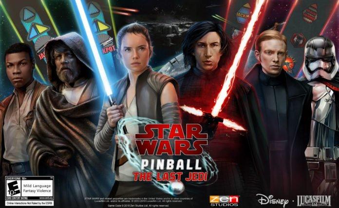 Star Wars Pinball: The Last Jedi Pack