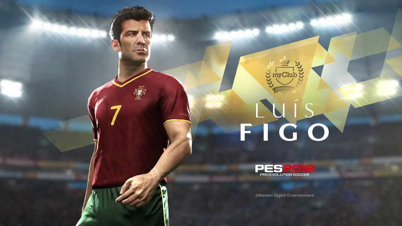 PES 2018 - Luis Figo