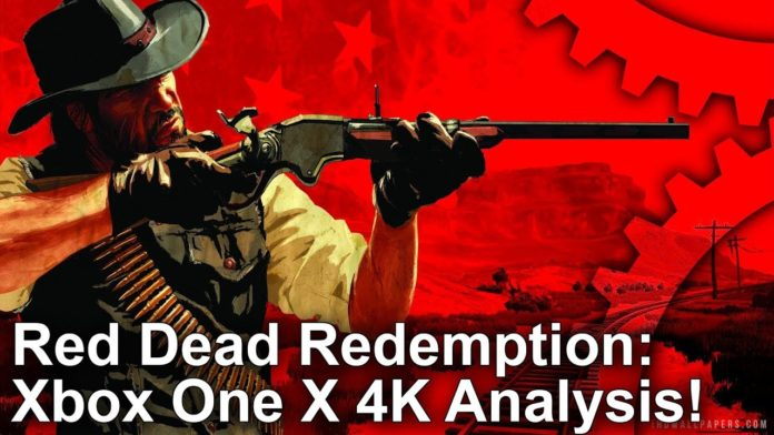red dead redemption xbox one x 4k analyse digital. Black Bedroom Furniture Sets. Home Design Ideas