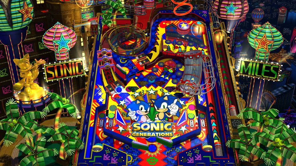 Sonic Generations Casino Night Pinball DLC