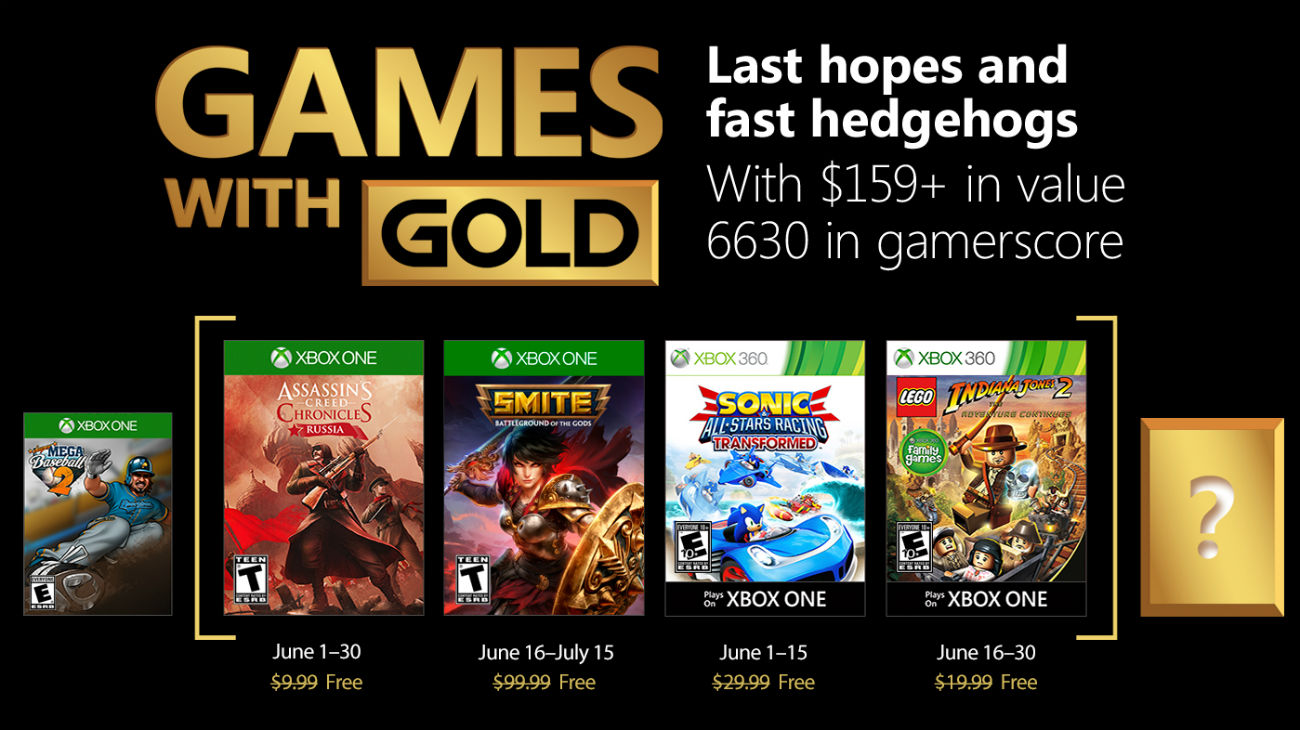 Games with Gold - Juni 2018
