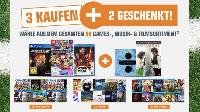 352d8b867d Bei Saturn könnt Ihr aktuell wieder beim Kauf von Videospielen für Xbox  One, PS4 & Co. den ein oder anderen Euro, bei der 3 Kaufen + 2 Geschenkt!  Aktion ...