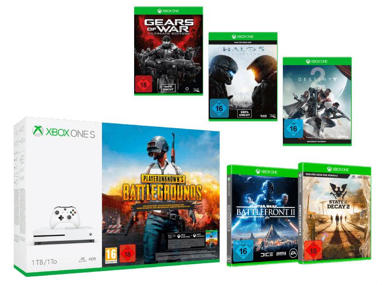 Saturn: Xbox One S Action Bundle
