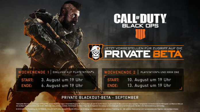Call of Duty: Black Ops 4 - Multiplayer Beta