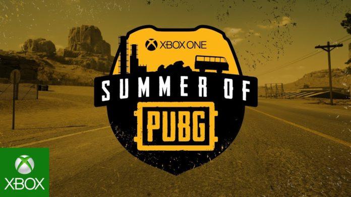 Xbox One Summer of PUBG