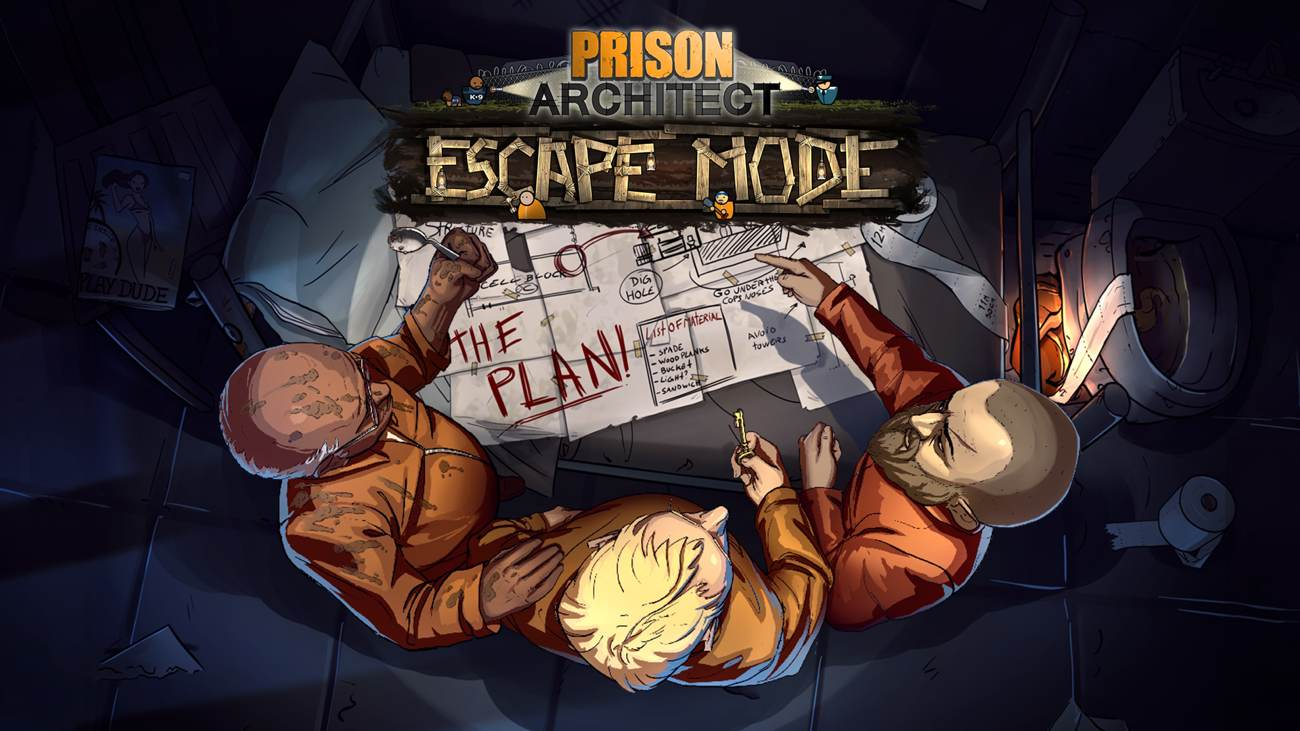 Prison Architect: Escape Mode-DLC