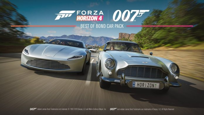 Forza Horizon 4 Best Of Bond Car Pack Trailer