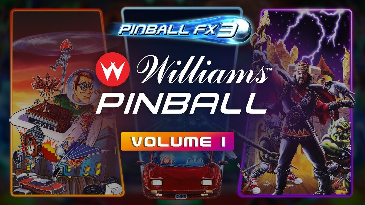 Pinball FX3: Williams Pinball Volume 1
