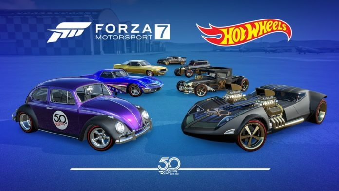 xbox one hot wheels fahrzeuge halten einzug in forza motorsport 7 und forza horizon 4. Black Bedroom Furniture Sets. Home Design Ideas