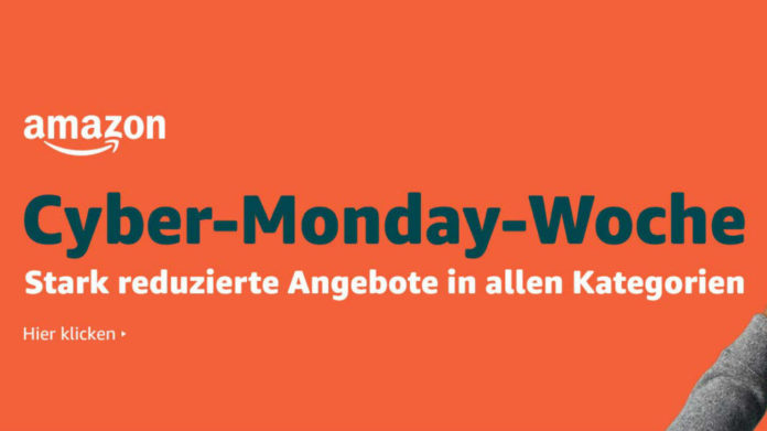 Cyber Monday Woche auf Amazon