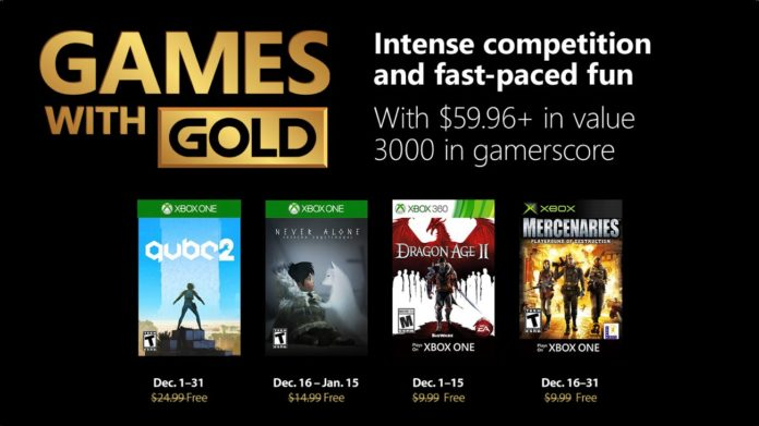 Games with Gold - Dezember 2018