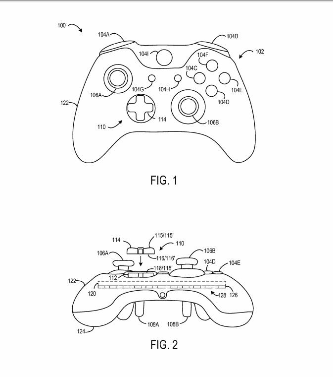 Xbox One Elite 2 Controller Patent