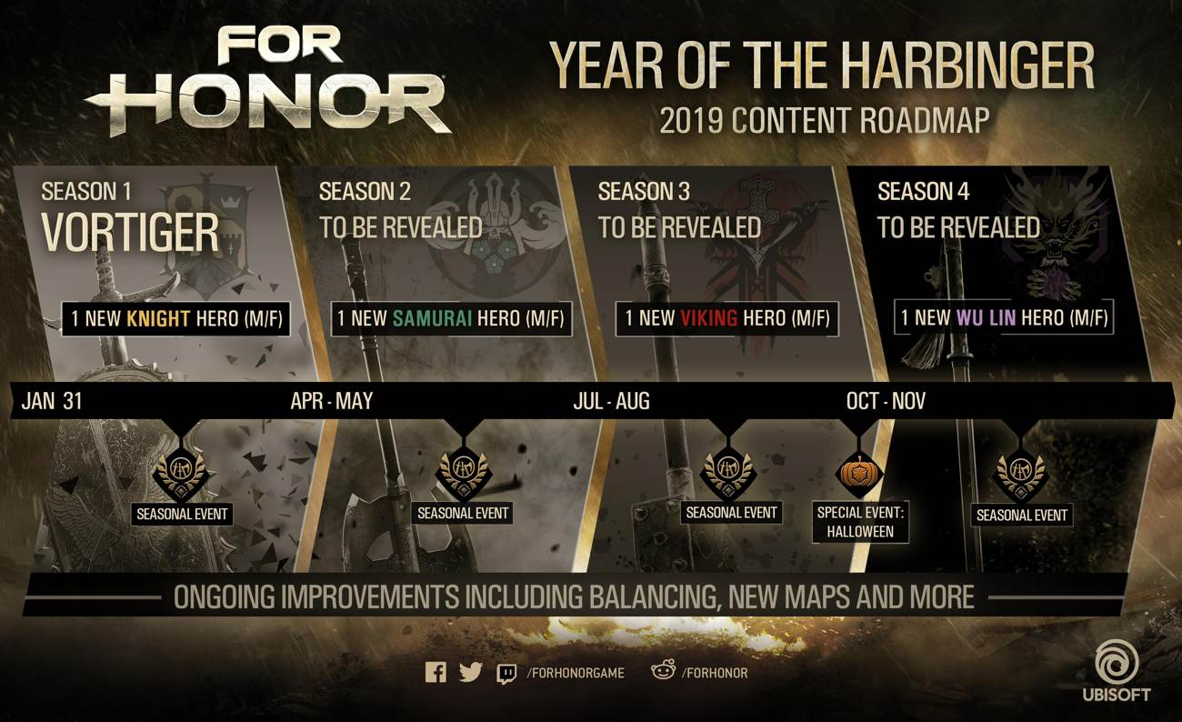 For Honor Year 3