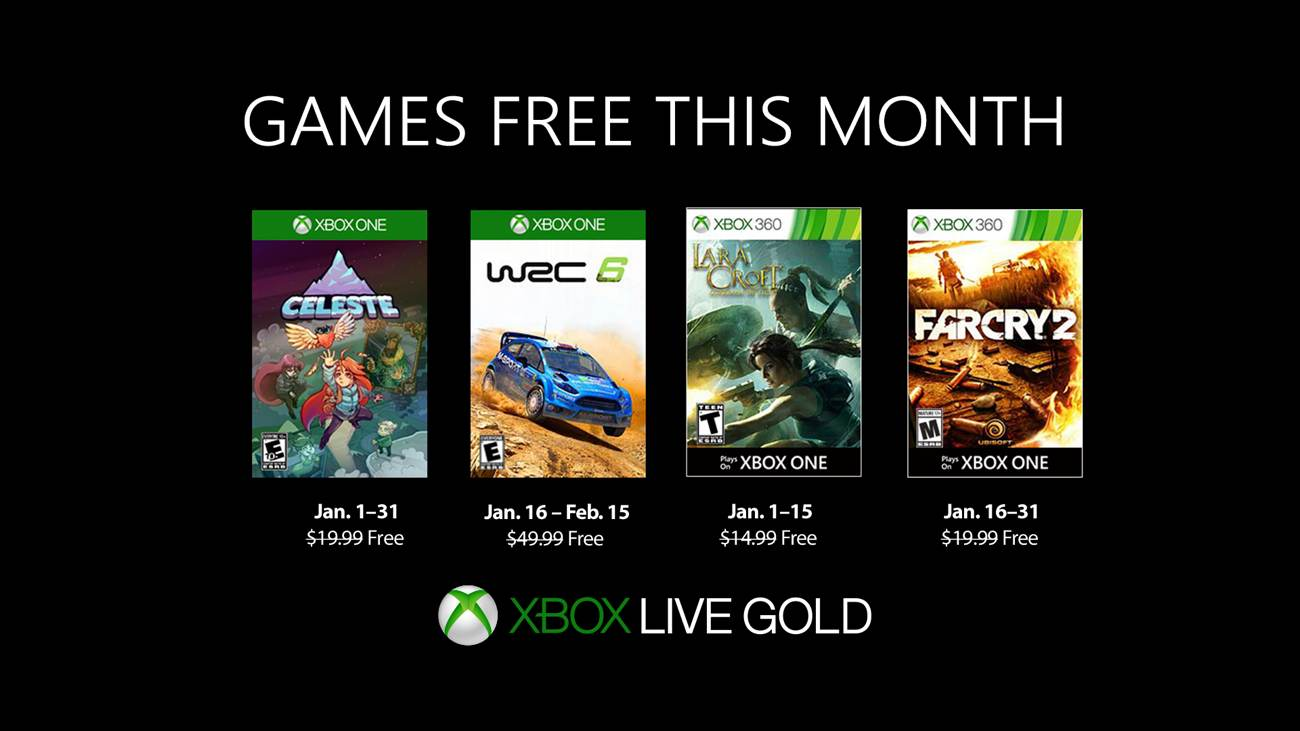 Games with Gold - Januar 2019
