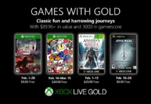 Games with Gold - Februar 2019