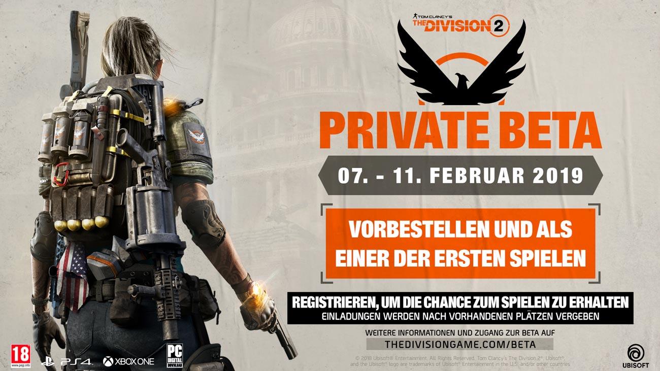 The Division 2: Private Beta