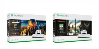Anthem & The Division Xbox One S