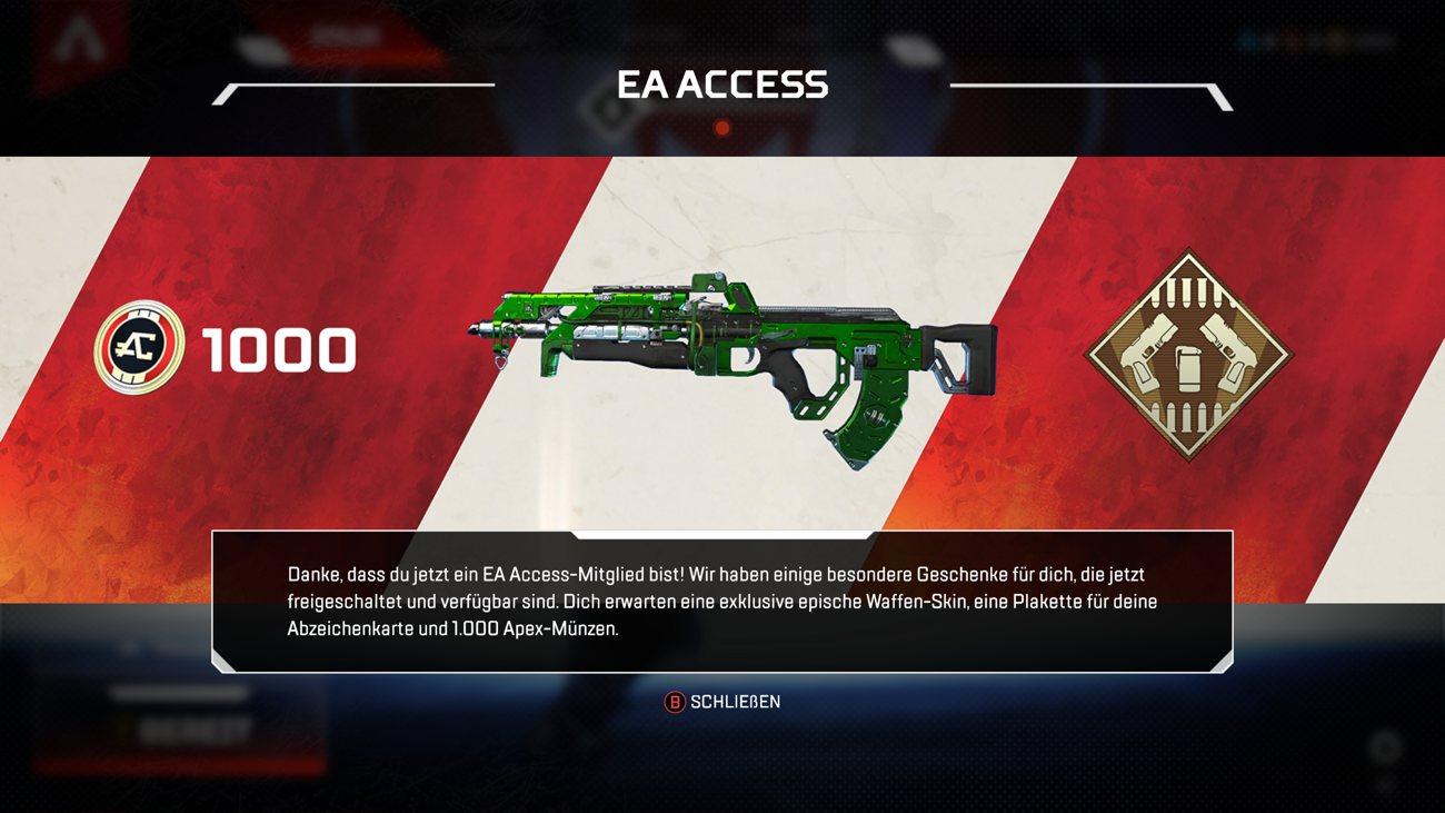 Apex Legends EA Access