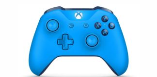 Xbox Wireless Controller in blau