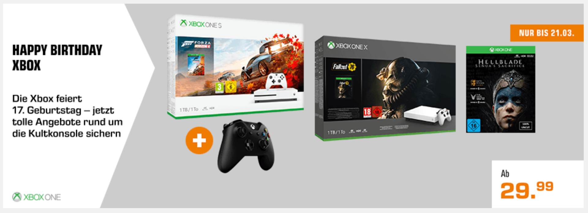 SATURN 17 Jahre Xbox