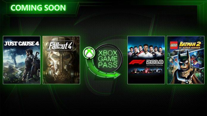 Xbox Game Pass F1 2018 Und Fallout 4 Ab Heute Im Spiele Abo Dienst