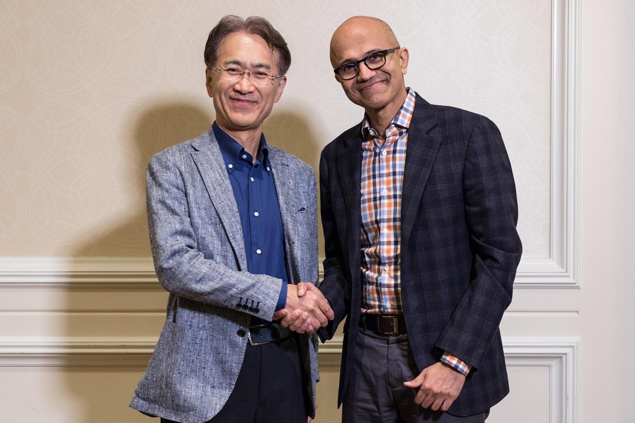 Microsoft Sony - Partnerschaft