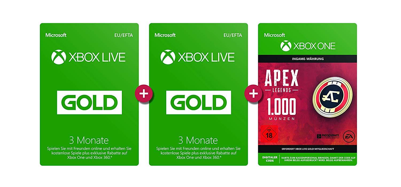 xbox live apex coins