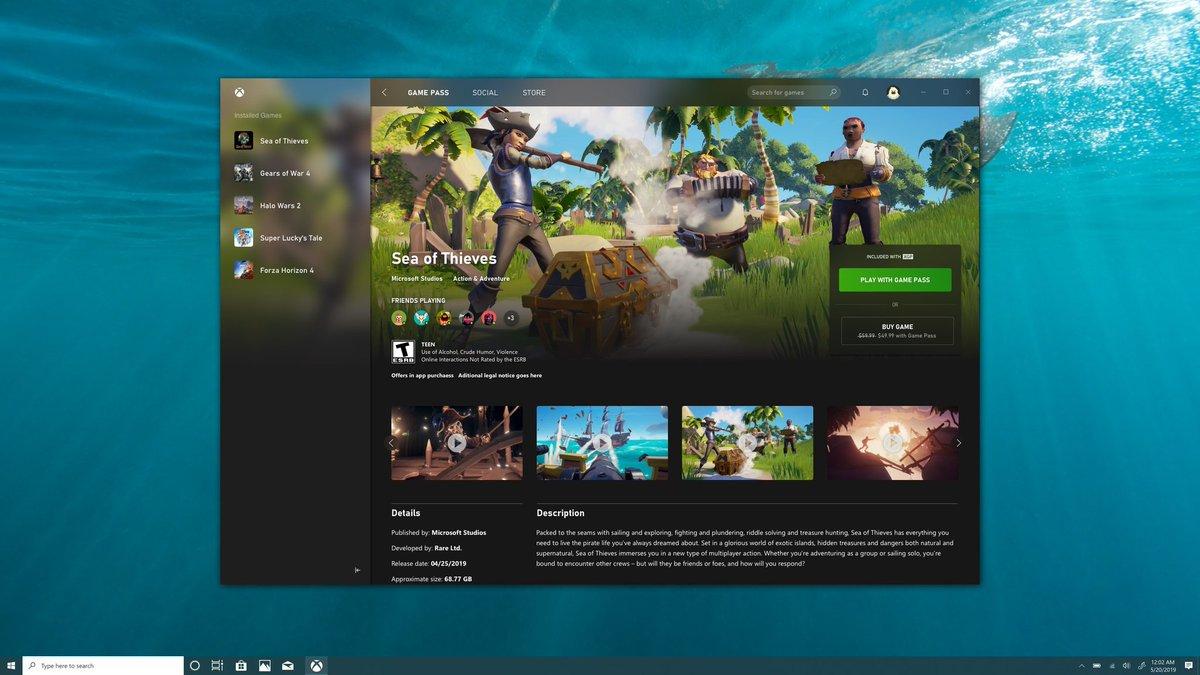 Xbox App Eletcron