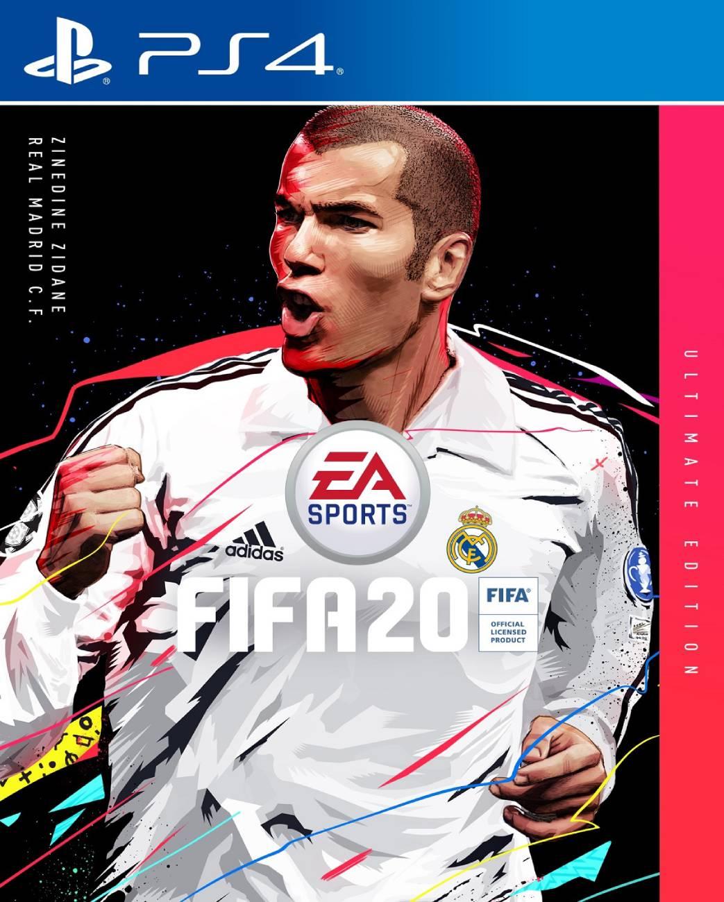 Zinedine Zidane wird Coverstar der Ultimate Edition