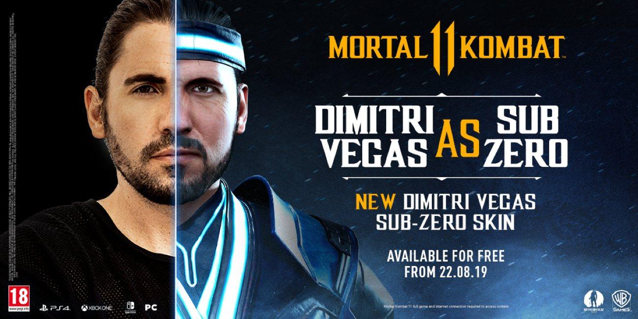 Dimitri Vegas als Sub-Zero
