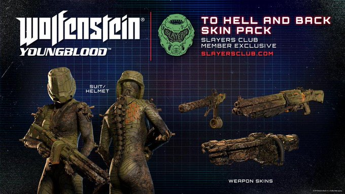 #DOOM Skin-Paket für Wolfenstein: Youngblood